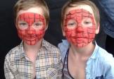 Bērnu seju apgleznošana